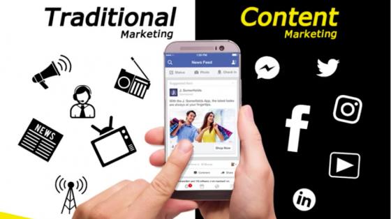 """Content Marketing"" แตกต่างจาก ""Traditional Marketing"" อย่างไร?"