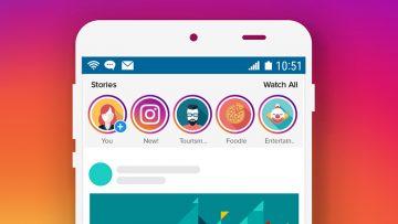7 แนวทางในการออกแบบ Stories Ads